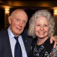 Raleigh J. Finkelstein with Marcia Haas.